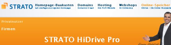 Post image of Strato HiDrive Pro